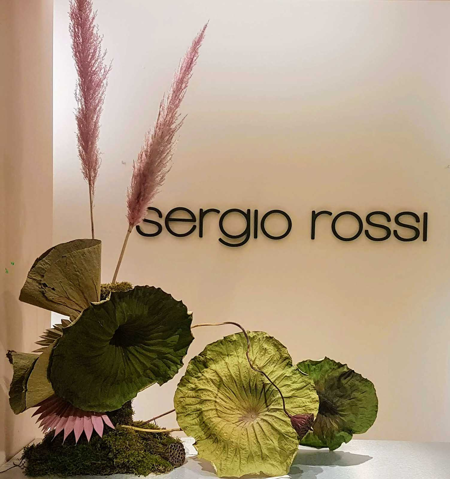 SERGIO ROSSI SHOWROOM 2020